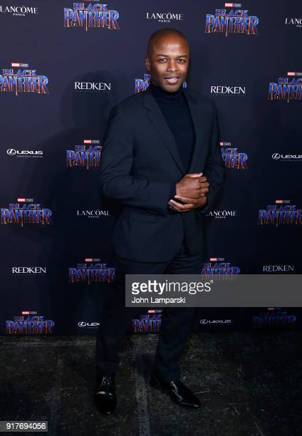 Kendis Gibson attends Marvel Studios Presents Black Panther Welcome To Wakanda during February 2018 New York Fashion Week The Shows at Industria...