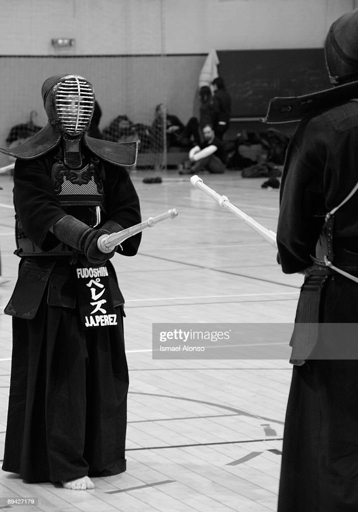 Kendo championship in Madrid : News Photo