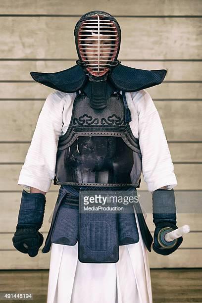 格闘家 Kendo 伝統的なギア
