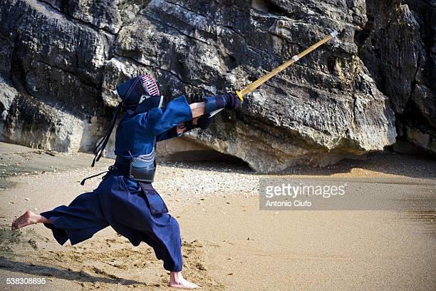 Kendo - lunge - Samurai