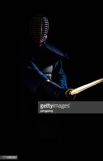 kendo - deporte de combate fotografías e imágenes de stock