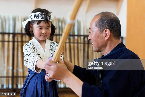 kendo teacher & student - submission combat sport stock pictures, royalty-free photos & images