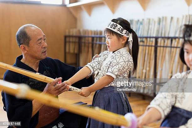 kendo teacher & students - submission combat sport stock pictures, royalty-free photos & images