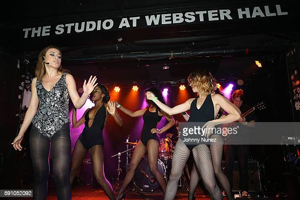 Kendra Black performs during the Kendra Black Album Release Party at Webster Hall on August 16 2016 in New York City