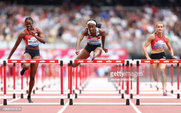 22nd July 2018 London Stadium London England Diamond League Athletics day 2 The field for the 1 mile womens Millicent Fawcett race