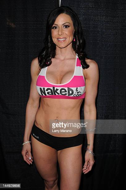 Kendra Lust attends Exxxotica Miami Beach at the Miami Beach Convention Center on May 20 2012 in Miami Beach Florida