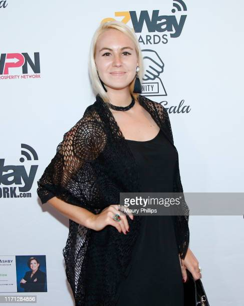 Kendra Muecke attends the eZWay Awards Golden Gala at Center Club Orange County on August 30, 2019 in Costa Mesa, California.