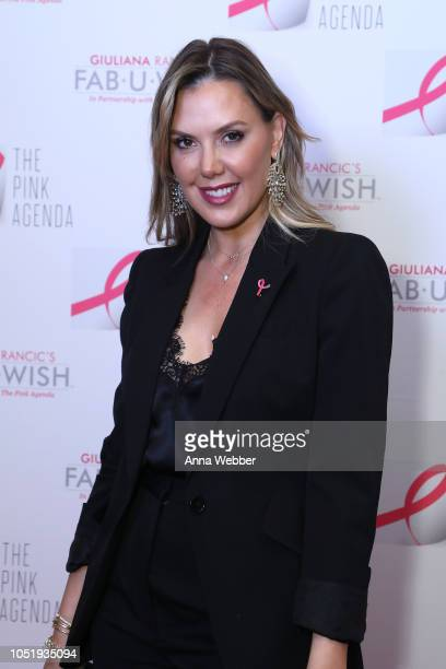 Kendra Scott attends The Pink Agenda's Annual Gala at Tribeca Rooftop on October 11 2018 in New York City