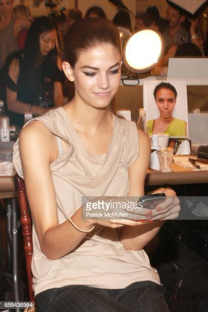 Kendra Spears attends OSCAR DE LA RENTA CLOTHING LINE Spring/Summer 2010 Collection at 583 Park Avenue on September 16 2009 in New York City