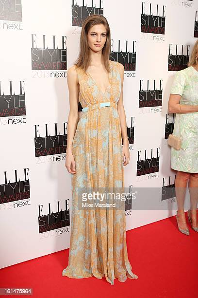 Kendra Spears attends the Elle Style Awards 2013 at The Savoy Hotel on February 11 2013 in London England