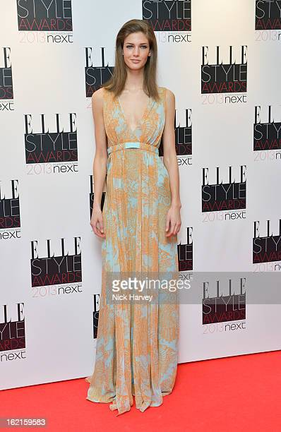 Kendra Spears attends the Elle Style Awards 2013 on February 11 2013 in London England