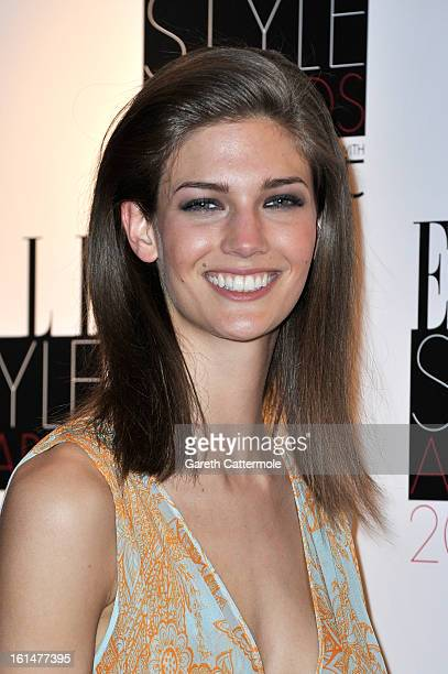 Kendra Spears attends the Elle Style Awards at The Savoy Hotel on February 11 2013 in London England