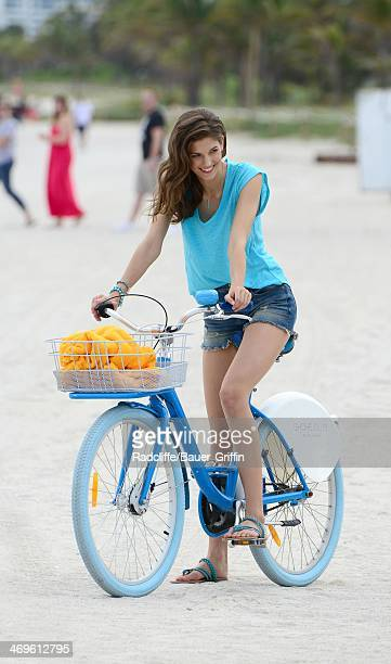 Kendra Spears is seen on February 15 2014 in Miami Florida