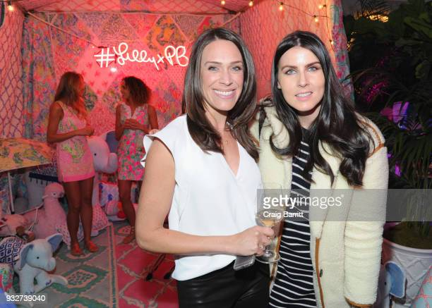 Kendra Stewart and Danielle Blundell attend the Launch Celebration of the Pottery Barn Pottery Barn Kids PBteen and Lilly Pulitzer Exclusive...