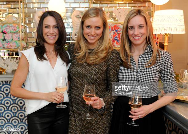 Kendra Stewart Madeline O'Malley and Kimberly House attend the Launch Celebration of the Pottery Barn Pottery Barn Kids PBteen and Lilly Pulitzer...
