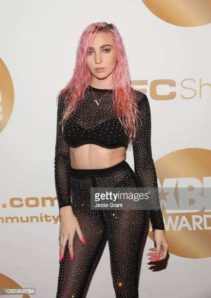 Kendra Sunderland attends the 2019 XBIZ Awards on January 17 2019 in Los Angeles California