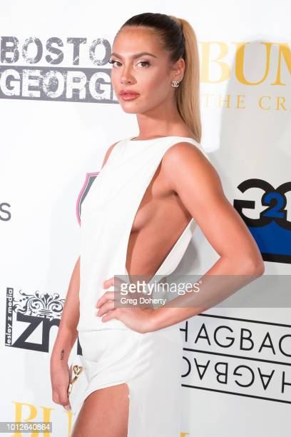 Kendra Teal attends George Jung's Birthday Celebration And Screening Of Blow at TCL Chinese 6 Theatres on August 6 2018 in Hollywood California
