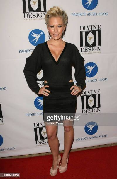 Kendra Wilkinson arrives at Project Angel Food's 2011 Divine Design Gala at The Beverly Hilton hotel on December 7 2011 in Beverly Hills California