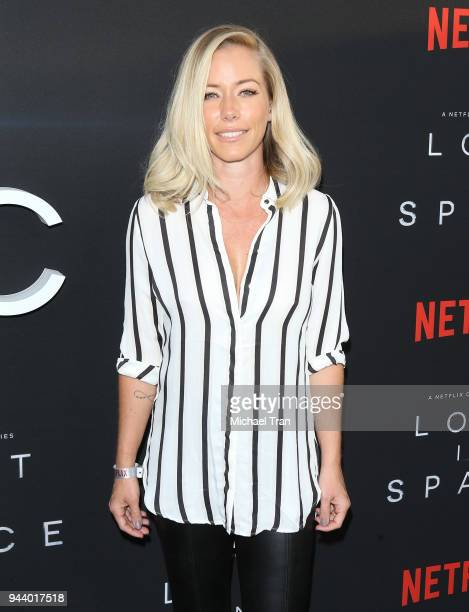 Kendra Wilkinson arrives to the Los Angeles premiere of Netflix's 'Lost In Space' Season 1 held at The Cinerama Dome on April 9 2018 in Los Angeles...