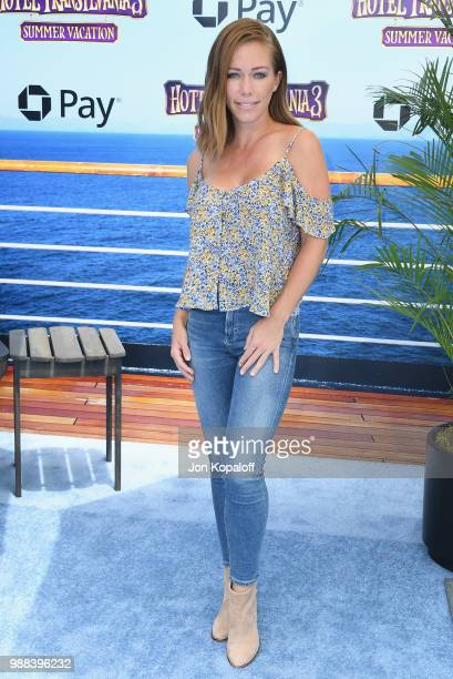 Kendra Wilkinson attends Columbia Pictures And Sony Pictures Animation's World Premiere Of Hotel Transylvania 3 Summer Vacation at Regency Village...