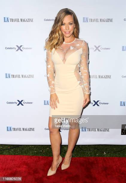 Kendra Wilkinson attends Los Angeles Travel Magazine's Endless Summer Issue Release Party at Penthouse on August 02, 2019 in West Hollywood,...