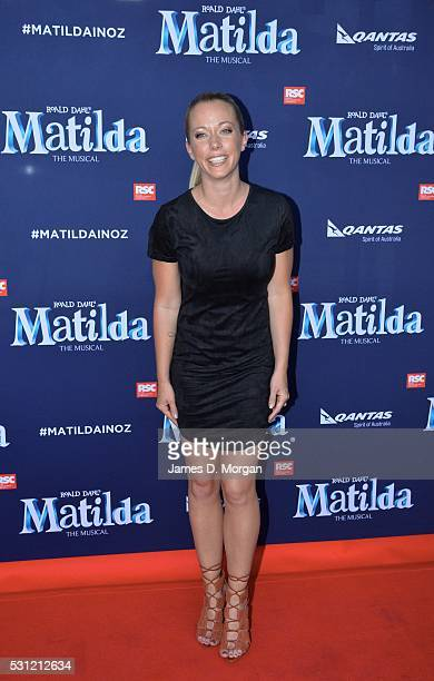 Kendra Wilkinson attends the opening night of Matilda the Musical along with Bryan Adams and other friends on March 17, 2016