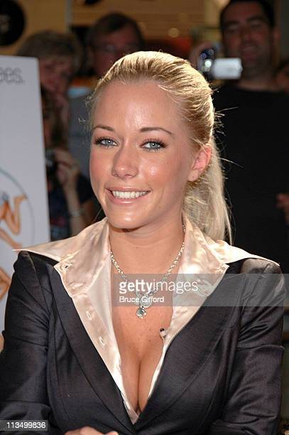Kendra Wilkinson during The Girls Next Door Signing Autographs at the Playboy Concept Boutique at the Forum Shops March 24 2007 at Caesars Palace in...