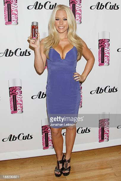 Kendra Wilkinson Promotes Ab Cuts By Revolution At GNC at GNC on November 17 2011 in Culver City California