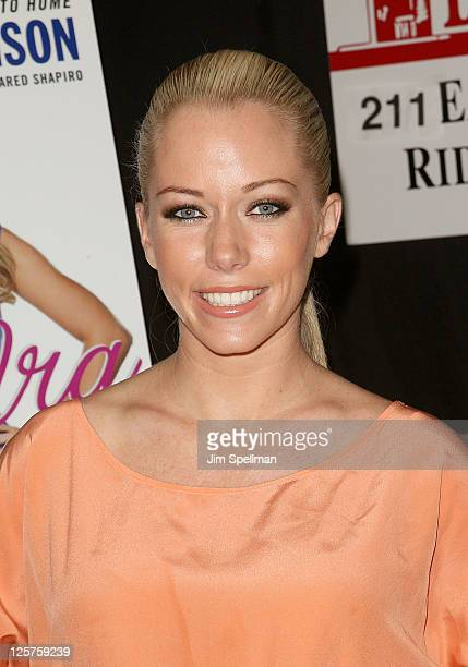 """Kendra Wilkinson promotes the new book """"Being Kendra"""" at Bookends Bookstore on September 21, 2011 in Ridgewood, New Jersey."""