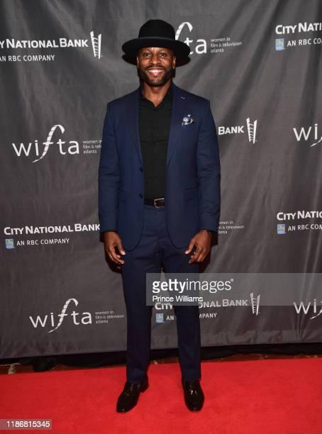 Kendrick Cross attends the 2019 WIFTA Gala at Four Seasons Hotel on November 9 2019 in Atlanta Georgia