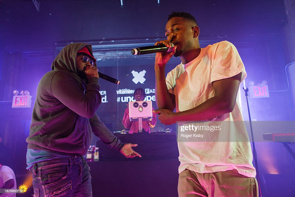 vitaminwater And The Fader Present uncapped With Schoolboy Q : News Photo