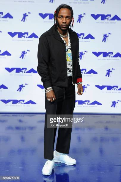 Kendrick Lamar attends the 2017 MTV Video Music Awards at The Forum on August 27 2017 in Inglewood California
