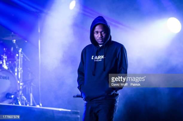 Kendrick Lamar performs at Rock en Seine on August 23 2013 in SaintCloud France