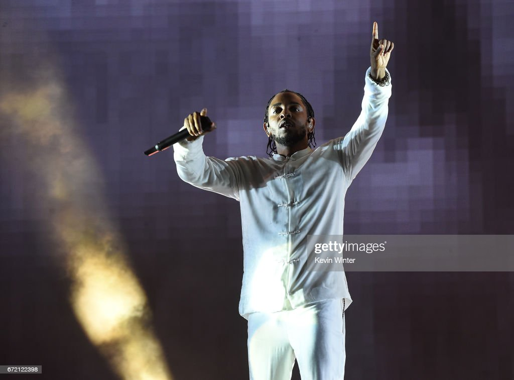 Kendrick Lamar was the fourth most streamed artist globally.
