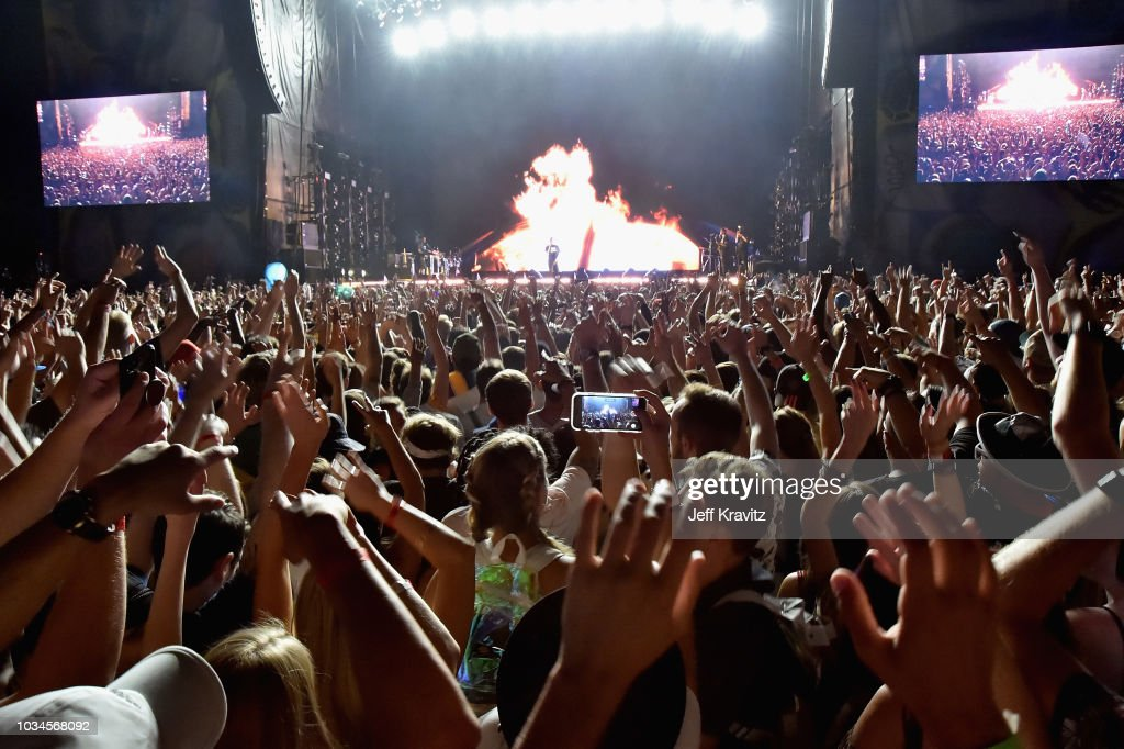 Grandoozy - Rock Stage - Friday : News Photo