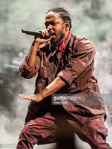 Kendrick Lamar performs onstage at the 2016 Panorama NYC Festival - Day 2 at Randall's Island on July 23, 2016 in New York City.