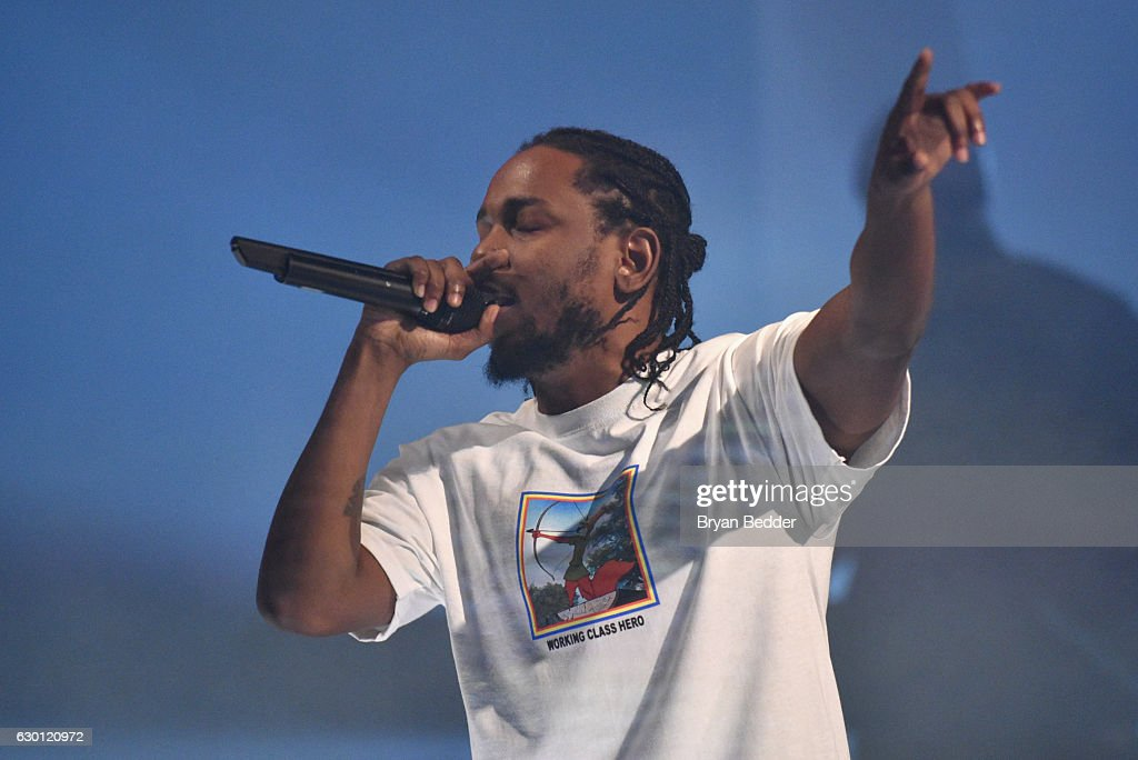 American Express Music Presents: Kendrick Lamar Live At Music Hall Of Williamsburg In Brooklyn, NY : News Photo