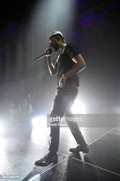 Kendrick Lamar performs onstage during Rihanna's 3rd Annual Diamond Ball Benefitting The Clara Lionel Foundation at Cipriani Wall Street on September...