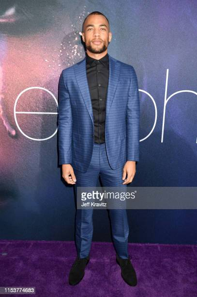 Kendrick Sampson attends HBO's Euphoria premiere at the Arclight Pacific Theatres' Cinerama Dome on June 04 2019 in Los Angeles California