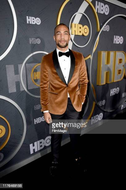 Kendrick Sampson attends HBO's Official 2019 Emmy After Party on September 22 2019 in Los Angeles California