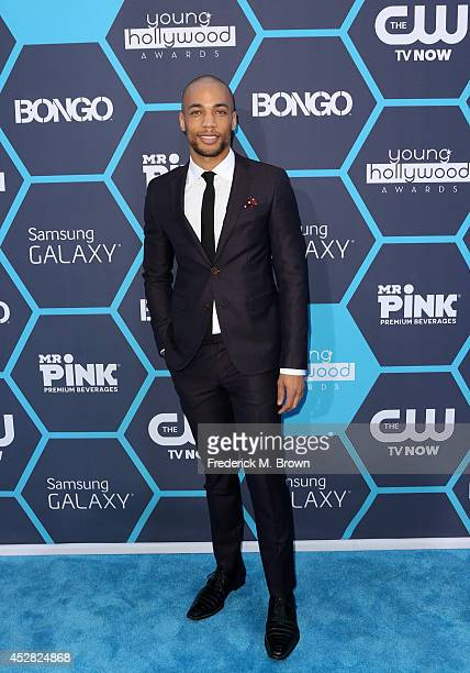 Kendrick Sampson attends the 2014 Young Hollywood Awards brought to you by Samsung Galaxy at The Wiltern on July 27 2014 in Los Angeles California