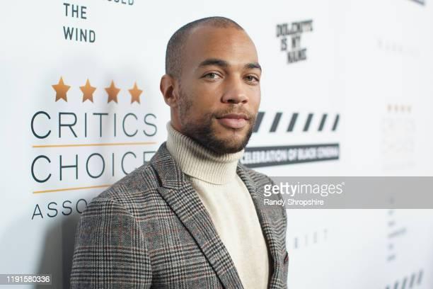Kendrick Sampson attends the Celebration of Black Cinema at Landmark Annex on December 02 2019 in Los Angeles California