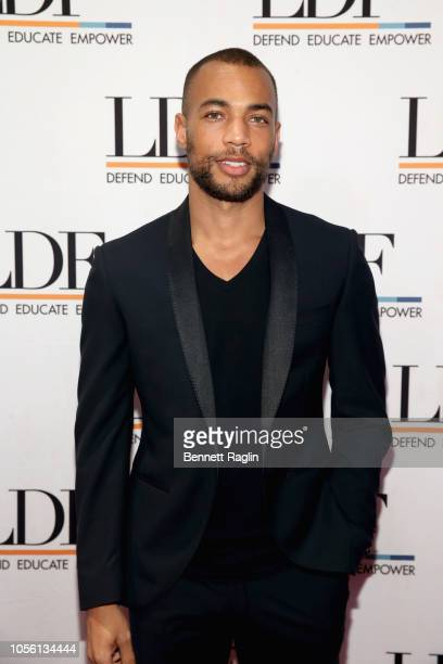 Kendrick Sampson attends the NAACP LDF 32nd National Equal Justice Awards Dinner at The Ziegfeld Ballroom on November 1 2018 in New York City