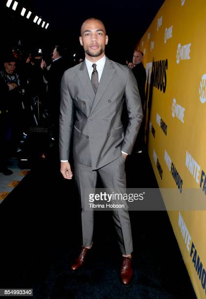 Kendrick Sampson attends the premiere of Showtime's 'White Famous' at The Jeremy Hotel on September 27 2017 in West Hollywood California