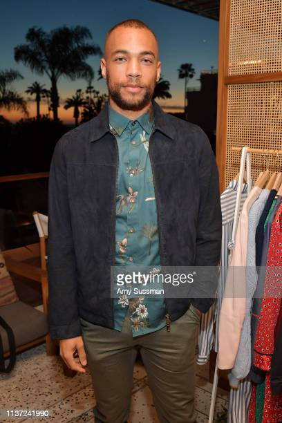 Kendrick Sampson attends the Ted Baker London SS'19 Launch Event at Elephante on March 20 2019 in Santa Monica California