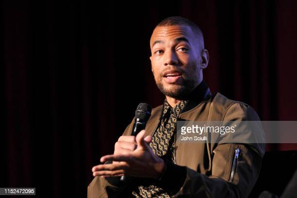 Kendrick Sampson speaks onstage during SoulPancake's Four Conversations about One Thing at Hammer Museum on May 29 2019 in Los Angeles California
