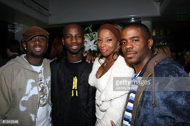 Kendrick Wyldcard Dean BryanMichael Cox Mary J Blige and Adonis Shropshire