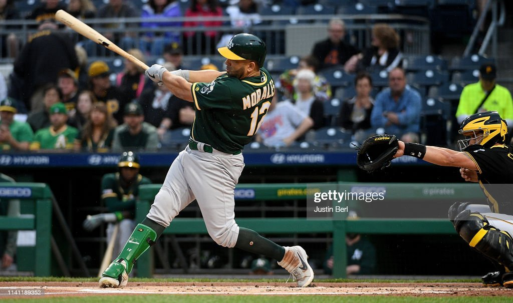 Oakland Athletics v Pittsburgh Pirates : News Photo