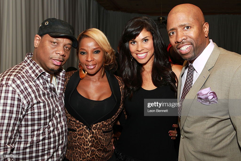 Kendu Isaac, Mary J. Blige, Gwendolyn Smith and Kenny Smith attend 10th Annual Kenny The Jet Smith NBA All-Star Bash, hosted by Mary J. Blige on February 24, 2012 in Orlando, Florida.