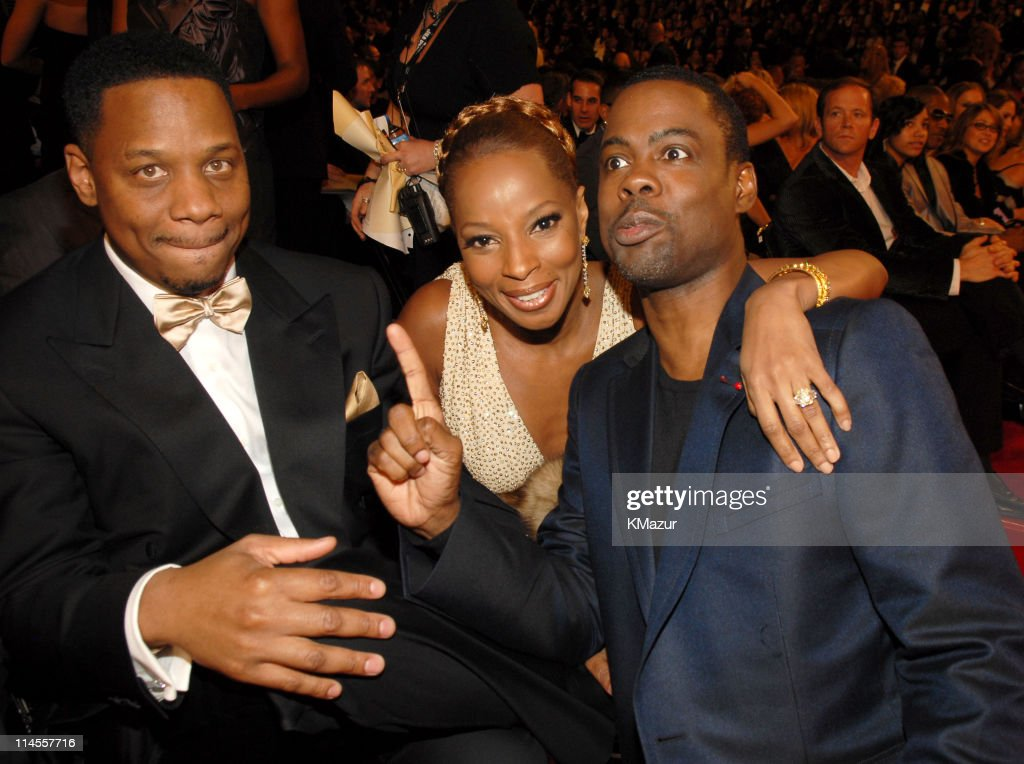 Kendu Isaacs, Mary J. Blige and Chris Rock *EXCLUSIVE*